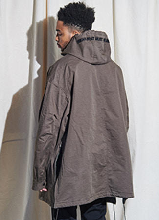 [Limited] Oversized Anorak Jacket - 2 color