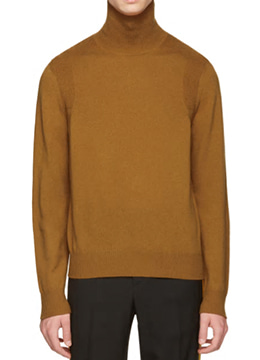 [Wool 100%] Basic  turtleneck  sweater- 6 color
