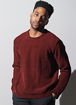 [Italy yarn] Velvet touch sweater -6 color  [30% sale]
