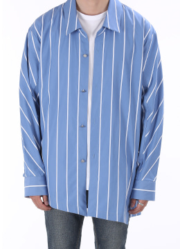 Front diagonal stripe shirts- 2 color