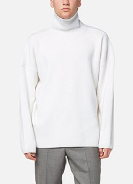 Heavy oversize turtle neck sweater - 3 color