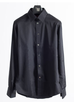 Premium regular collar black shirts