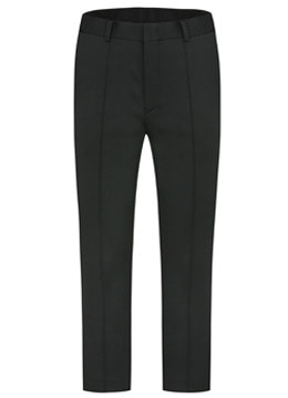 F/W Side banding tuck detail slacks