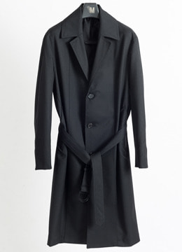 Notched single trench coat [피팅컷 업데이트]