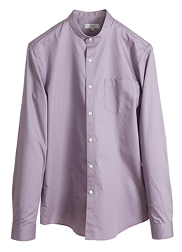 Chinese collar minimal shirts-Lovely purple- 40% SALE!!!!!